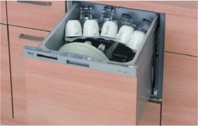 食器洗い乾燥機 スライドオープンタイプ